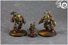 Adeptus Mechanicus, Kastelan Robots, Science-fiction, Steampunk, Warhammer 40,000 - Adeptus Mechanicus Kastelan Robots - Gallery - DakkaDakka   Ask not what Dakka can do for you...