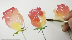 Simple Rose Painting - Level 2