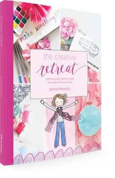 The Creative Retreat book isn't your ordinary book. It's your ticket to creative me-time, a guide that will show you how to create personal retreats. Create Your Own, Create Yourself, Finding Yourself, Homemade Face Wash, Art Journal Prompts, Art Journaling, Trending Crafts, To Color, Printable Cards