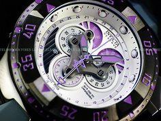 Invicta $1995 Orchid Excursion SWISS MADE Master Chrono 5040F Gunmetal SS Watch 886678228782 | eBay