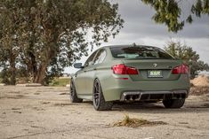 The project comes courtesy of Vorsteiner, bringing us their BMW F10 M5 aero program together with their Flow Forged aftermarket wheels.