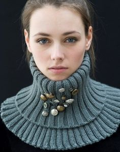 knitted neck piece ✤ | Keep the Glamour | BeStayBeautiful