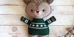 Holiday Deer Free Crochet Pattern (Part 2!) • Spin a Yarn Crochet