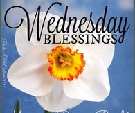 Wednesday Blessings, May Your Day Be Bright And Beautiful