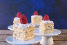 Fragilité - en tørkage fra svigermor - Bagvrk.dk Cake Recipes, Dessert Recipes, Fika, Food Cakes, Delicious Desserts, Almond, Cheesecake, Deserts, Food And Drink
