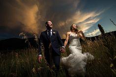 WPJA award winning photo | J. La Plante Photo | Colorado sunset wedding