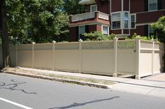 Wood Privacy Fence | Atlantic Fence Supply