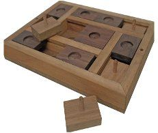 Slider Dog Puzzle and training aid, handcrafted in the UK