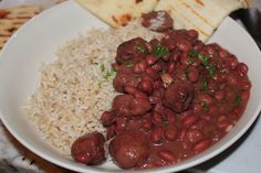 Red Beans & Rice - Mary T's Crock-Pot Style — Recipe Crusader