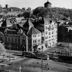 Järntorget and Skansen Kronan, Gothenburg. Old Pictures, Old Photos, The Secret History, Gothenburg, Architecture Old, Historical Fiction, Stockholm, Sweden, Past