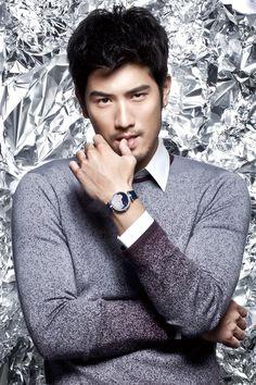 Godfrey Gao...He's so hot I wanna cry!