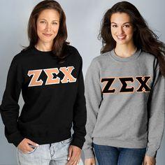 Sorority 2 Crewneck Sweatshirts Package #Greek #Sorority #Clothing