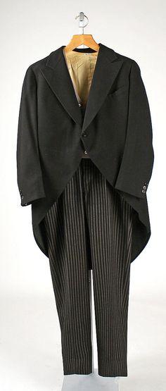 Morning suit 1936 wool