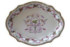 Richard Ginori Rapallo Oval Dish - every shape is beautiful and hand painted.