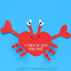 heart crab valentines