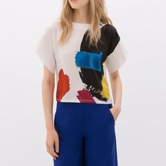 Zara top New with tag. Zara Tops