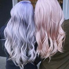 Blue Wigs Lace Hair Lace Frontal Wigs Ghost Bond Platinum Red Hair With Blue Highlights Blue And Purple Hair Color Hair Color Purple, Cool Hair Color, Pink Hair, Pastel Lavender Hair, Silver Purple Hair, Light Purple Hair, Blonde Color, Blonde Brunette, Red Hair