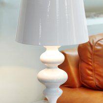 White Metal Floor Lamp | DesResDesign