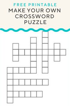 7 Popular Crossword Puzzle Maker Images Create Word Search