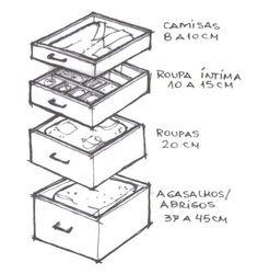 Resultado de imagem para profundidade gavetas cozinha