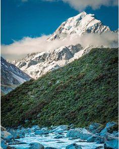 Brilliant blues gorgeous greens and wonderful whites.  Pic: @meghanmaloneyphotography - Mt Cook  _______________________________  #mtcook #autumn #nz #travel #newzealand #kiwi #instatravel #travelgram #landscape #nature #northisland #southisland #aotearoa #scenery #sceneryporn #beautiful #breathtaking #ourplanetdaily #neverstopexploring #lonelyplanet #splendid_earth #tourtheplanet #beautifuldestinations #igbest_shotz #naturelovers #roamtheplanet #worldshotz #wanderlust #openmyworld