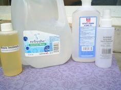 Homemade air freshener & body spray