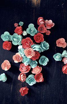 Dekoration zur Konfirmation - spiral flower von SU