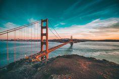 #GoldenGate, símbolo de #SanFrancisco. Es uno de los #puentes más largos del mundo. http://www.reservarhotel.com/estados-unidos/hoteles-en-san-francisco-11/ #reservarhotel #hotelesensanfrancisco #viajar #estadosunidos