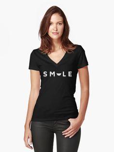 Buy 'SmileCheery Smiling Good for the Soul  #smile #smiling #cheery #smileback #happy #tshirts #mugs #vnecks #hoodies #positivity