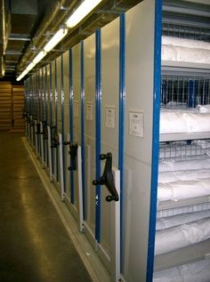 Maxstor is a proven, robust, durable warehouse racking system for larger applications whether in an office or warehouse environment. http://www.compactstorage.co.uk/mobile-shelving/maxstor/