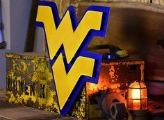 West Virginia University 3D Metal Artwork