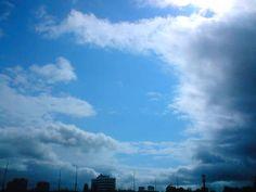 sky high in shape of a three in glasgow