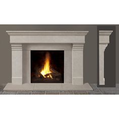Wood Stone Granite fireplace mantel designs remodeling ideas decorating pics | Interior Design | Interior Design Ideas|Architecture | Furniture | Exterior Design found on Polyvore