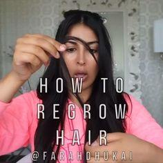 """d439dde6919 ... Instagram: """"Simulación de pérdida de cabello y lo que puede hacer  ginger o jengibre fresco en solo 30 min usándolo regularmente. @farahdhukai  #videos…"""""""