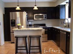 Home on pinterest particle board mobile home kitchens and cabinets