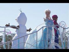 Anna & Elsa Frozen Fantasy Greeting Parade Tokyo Disneyland Japan 2015 東...