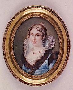 1811 Madame de Grouvelle mere by Fontallard Jean-François-Gérard Fontallard (Louvre) | Grand Ladies | gogm