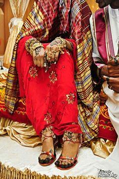 #Sudanese #bride with #henna in #Jirtig : #Traditional #Sudanese #Wedding