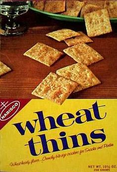 Wheat Thins crackers  c. 1966