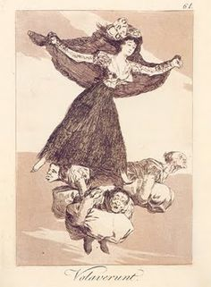 Volavérunt, Los Caprichos, Francisco de Goya
