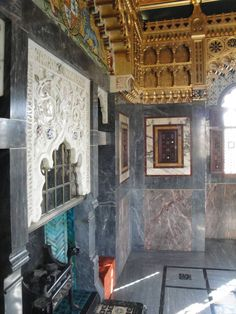 The Arab Room and the Banquet Hall, Cardiff Castle, by William Burges.