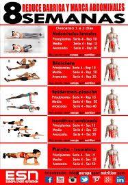 Resultado de imagen de imagenes de entrenamiento para el abdomen para hombres