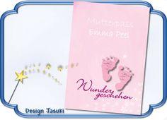 Mutterpass Hülle, Wunder geschehen von Jasuki auf DaWanda.com