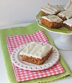 This sheet cake is much easier than making a classic, carrot layer cake, but it still captures the familiar rich and sweet flavor. Get the recipe from Jamie Cooks it Up.   - Delish.com