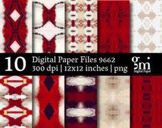 Black Digital Paper Black and White Digital by DigitalPaperGM