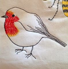 Free-hand machine embroidery Mäde! by Kasia                                                                                                                                                                                 More