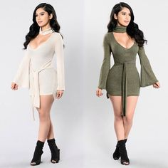 """❤️SHOP NEW ARRIVALS❤️⠀ Use Code: ➡️""""6MILLI""""⬅️ for 30-70% off the ENTIRE Site⠀ Search: """"Perfect Stranger Dress"""" ONLY 🚨$18.99🚨 after discount⠀ Search: """"Kingdom Rise Boot""""⠀⠀ ✨www.FashionNova.com✨ #fashion #style #clothing"""