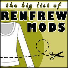 Making It Well: The Big List of Renfrew Mods