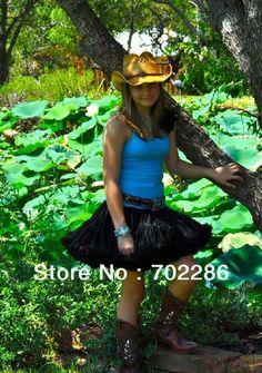 Free shipping women skirts adult pettiskirts tutu black many colors available US $29.99 - 31.99