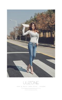Buy UUZONE Off-Shoulder Ribbed T-Shirt at YesStyle.com! Quality products at remarkable prices. FREE Worldwide Shipping available!
